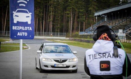 Latvijā veidos starptautisku bezpilota auto izmēģinājumu trasi