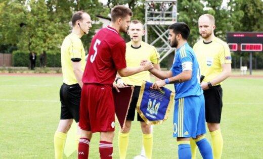 Latvijas U-21 izlases kapteinis cer uz punktu atņemšanu grandiem