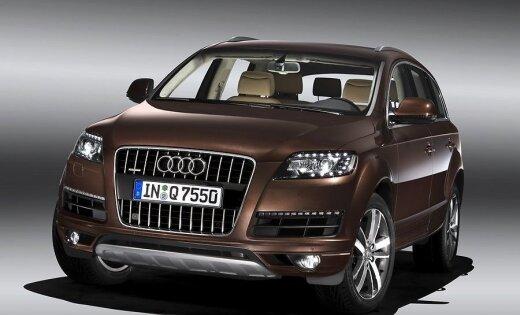 Audi готовит полноразмерный семиместный внедорожник Q9