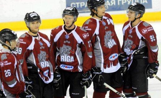 HK 'Rīga' pārbaudes spēlē piekāpjas Minskas 'Junostj'