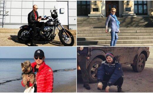 Foto: Kā populāri latvieši pavasarīgajās brīvdienās izklaidējās