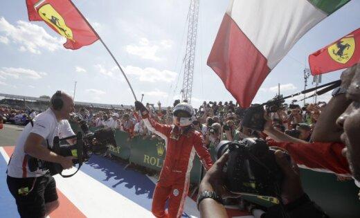 Феттель выиграл Гран-при Великобритании и сравнялся с великим Простом