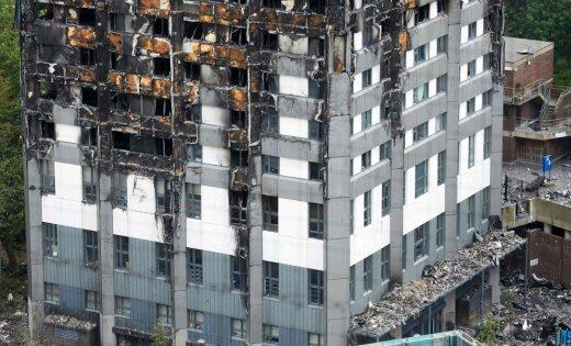 Полиция назвала причину пожара вмногоэтажке Лондона