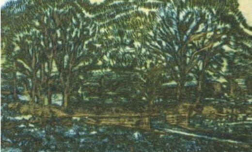 Atklās Dainas Skadmanes piemiņas izstādi 'Mākslas pasaule'