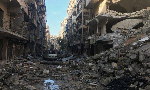 Алеппо перешел под полный контроль руководства Сирии после ухода последних боевиков