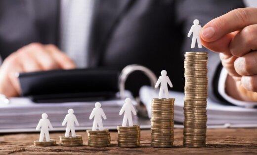 Samazinājies darbinieku skaits, kas saņem minimālo algu