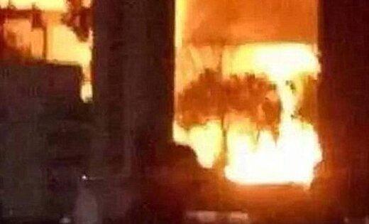 В результате взрыва на химзаводе в Китае пострадали девять человек