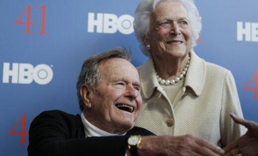 Джордж Буш-старший проведет в клинике еще некоторое количество дней