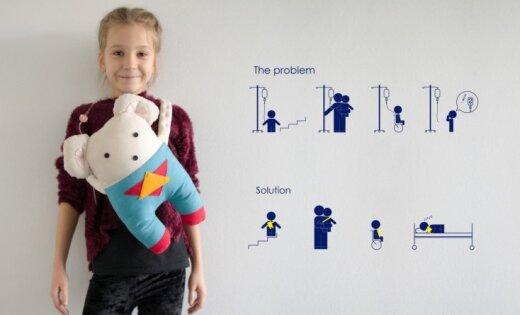 Latvijas Dizaina gada balvas 2018 izstādes skatītāju favorīts – 'Spēka pele'