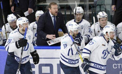Par Karsuma pārstāvētās Maskavas 'Dinamo' galveno treneri kļuvis Vladimirs Vorobjovs