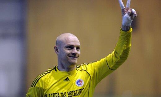 'Liepājas metalurgs' futbolistiem pirmā uzvara Ziemas kausā