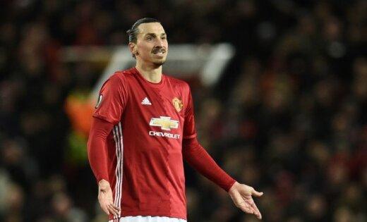 Ibrahimovičs atsakās no rekordlielas algas Amerikā un cer atgriezties 'Manchester United'