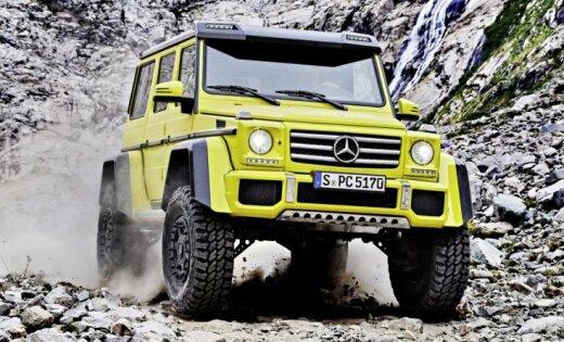 Mercedes-Benz показал самый экстремальный