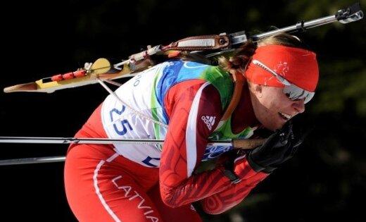 Līduma sprinta sacensībās Oberhofā ierindojas 51.vietā