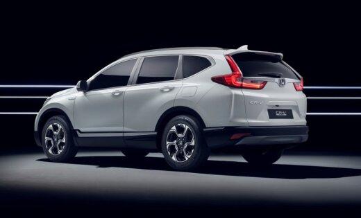 'Honda' izstrādājusi hibrīda modifikāciju 'CR-V' apvidniekam