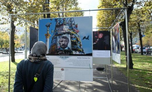 """Рижская дума запретила проведение выставки """"Люди Майдана"""""""