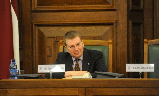 Ринкевич заявил, что Крым — это Украина, и Латвия будет настаивать на этом