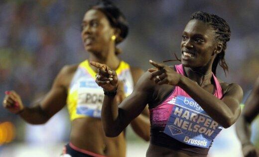 Североамериканская легкоатлетка отстранена натри месяца заупотребление допинга