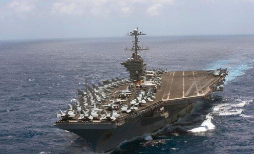 Авианосная группа США вошла вСредиземное море
