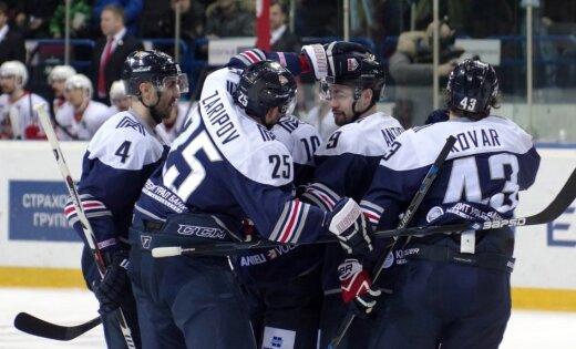 Magņitogorskas 'Metallurg' kā pirmā sasniedz šīs sezonas KHL izslēgšanas spēļu pusfinālu