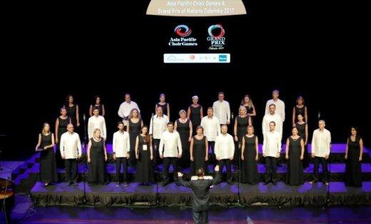 Rīgas pareizticīgo kamerkoris 'Blagovest' ieguvis Grand Prix Āzijas koru olimpiādē