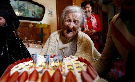 ВИталии ввозрасте 117 лет скончалась старейшая женщина напланете