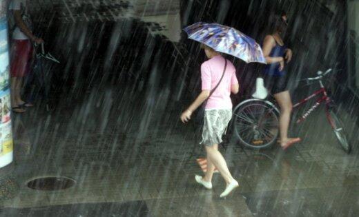 Cиноптики: во вторник на юго-востоке Латвии ожидается дождь, станет прохладнее