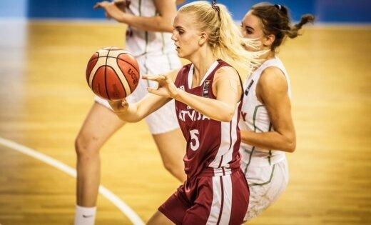 Latvijas U-18 basketbolistes Eiropas čempionāta bronzas spēlē zaudē Ungārijai