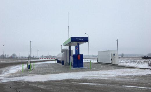 Открылась новая автозаправка Neste у латвийско-литовской границы