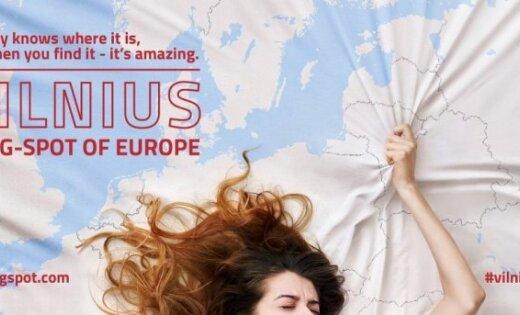 """Вильнюс представили в рекламной кампании как """"Европейскую точку G"""""""