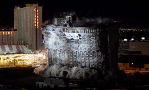 ВЛас-Вегасе разрушен популярный отель «Ривьера», вкотором снимались известные фильмы
