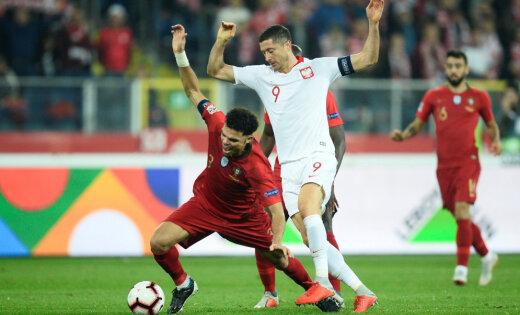 Лига наций: Португальцы испортили юбилей Левандовски, Литва проиграла Румынии