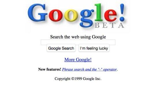Interneta nesenā aizvēsture - populāru portālu senie dizaini un interesanti fakti