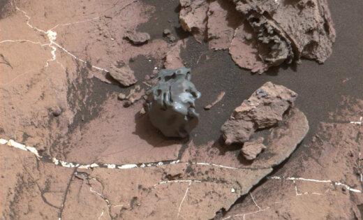 Curiosity нашел наМарсе железный шар