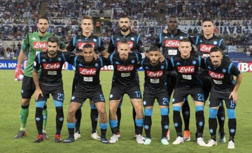 Neapoles futbola klubs 'ieberžas' ar biļešu cenu paaugstināšanu