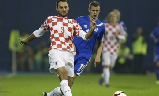 Horvātu futbolists izlaidīs Pasaules kausu nacistiska izlēciena dēļ