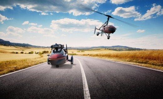 Nīderlandē izstrādāts pirmais sērijveida lidojošais auto