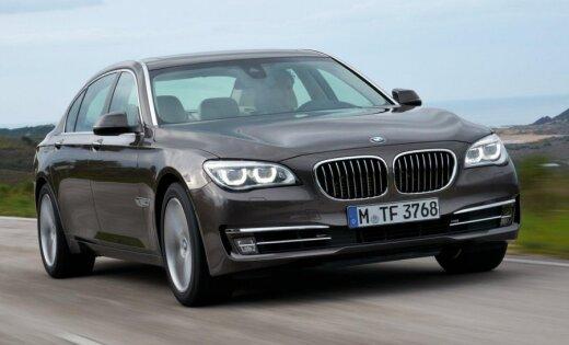 """Семерка"" BMW— под капотом четыре цилиндра"