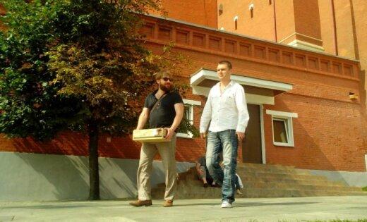 Paparaci foto: Osipovs un Girss iznes kasti no Kremļa