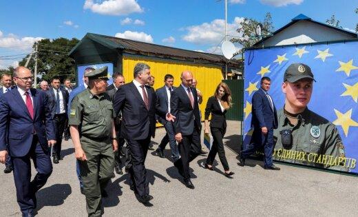 Порошенко: Украина несомненно поможет Молдове восстановить суверенитет над Приднестровьем