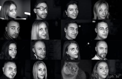 """16 обычных латвийцев в необычном фотопроекте """"Мысли вокруг нас"""""""