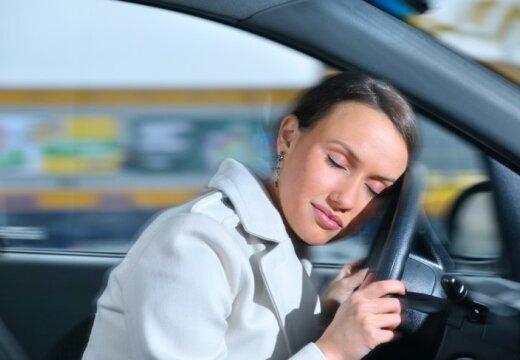 Советы водителям: как бороться с сонливостью за рулем.