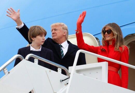 ФОТО: Меланья Трамп очаровала журналистов кокетливым стилем