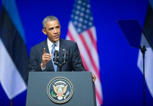 Еврейская газета раскритиковала речь Обамы: в Эстонии не сопротивлялись нацистам
