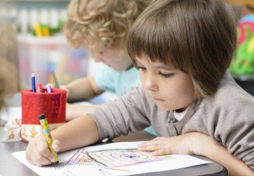 Ученые: навыки ребенка улучшаются в детском саду всего на 10%