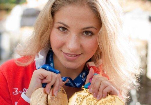 Российская чемпионка мира готова вывести Латвию на высший уровень синхронного плавания
