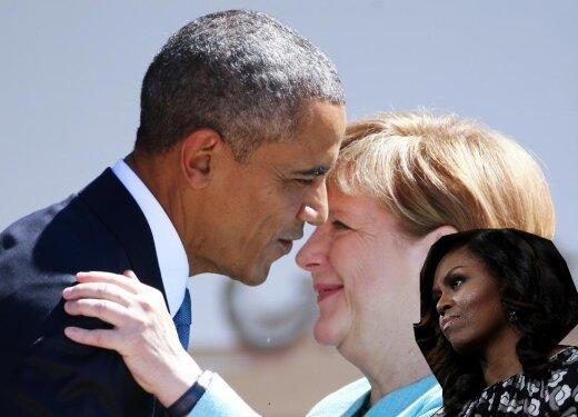 10 фото Барака и Ангелы, за которые президент США (возможно) получил скалкой по голове