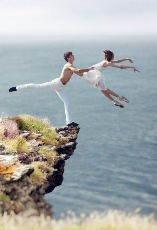 ...mazliet baleta pie dabas krūts!