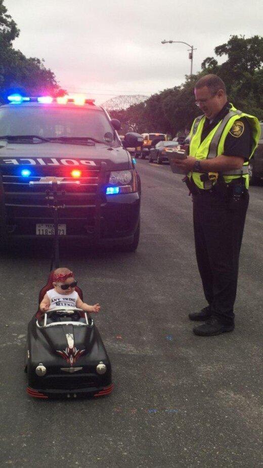 Policista kungs, ļaujiet paskaidrot...