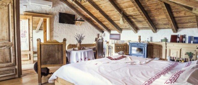 Ar sapņainu auru: pasakainas guļamistabas bēniņos